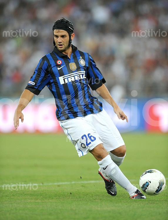 FUSSBALL INTERNATIONAL   SERIE A   Tim Trophy SAISON 2011/2012    Inter Mailand  18.08.2011 Cristian Chivu (Inter Mailand)