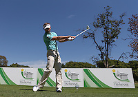 Raphael Jacquelin (FRA) caught by the remote camera on the 4th tee during the practice day ahead of the Tshwane Open 2015 at the Pretoria Country Club, Waterkloof, Pretoria, South Africa. Picture:  David Lloyd / www.golffile.ie. 10/03/2015