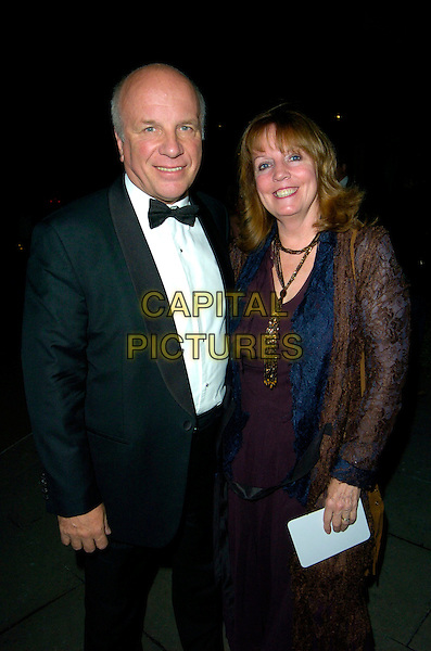 GREG DYKE & GUEST.At The Paul O'Gorman Banquet & Ball, Grosvenor House Hotel, Park Lane, London, England, November 10th 2007..half length.CAP/CAN.©Can Nguyen/Capital Pictures