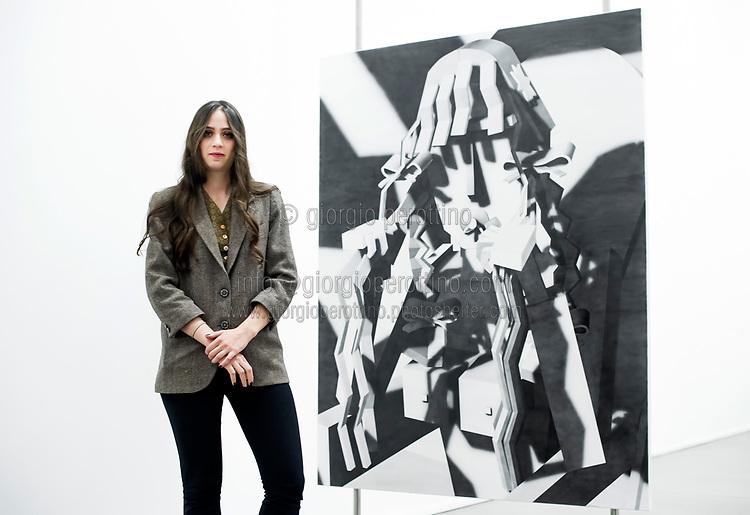 | Avery Singer - artist |<br /> client: Fondazione Sandretto Re Rebaudengo, Turin
