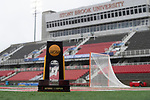 STONY BROOK, NY - A general view of the trophy ahead of the Division I Women's Lacrosse Championship held at Kenneth P. LaValle Stadium on May 27, 2018 in Stony Brook, New York. (Photo by Ben Solomon/NCAA Photos via Getty Images)