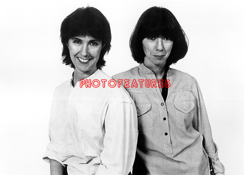 Kate & Anna McGarrigle on Polydor Records.photo from promoarchive.com/ Photofeatures...photo from promoarchive.com/ Photofeatures..