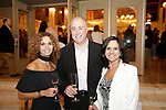 Waterbury, CT- 01 June 2017-060117CM08-  <br /> From left, Jacquie Dufour of Morris with Tom and Janine Pettinicchi of Watertown  are photographed during the Palace Theater's Stages Wine Dinner event in Waterbury on Thursday.   Christopher Massa Republican-American
