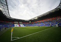 DECINES-CHARPIEU, FRANCE - JULY 02: Groupama Stadium prior to a 2019 FIFA Women's World Cup France Semi-Final match between England and the United States at Groupama Stadium on July 02, 2019 in Decines-Charpieu, France.