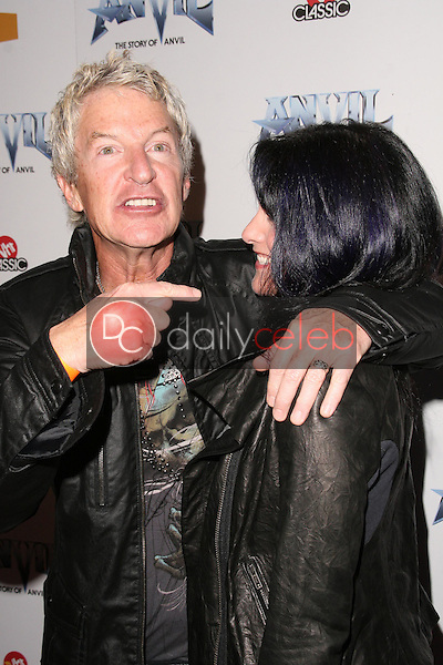 Kevin Cronin and wife Lisa<br />
