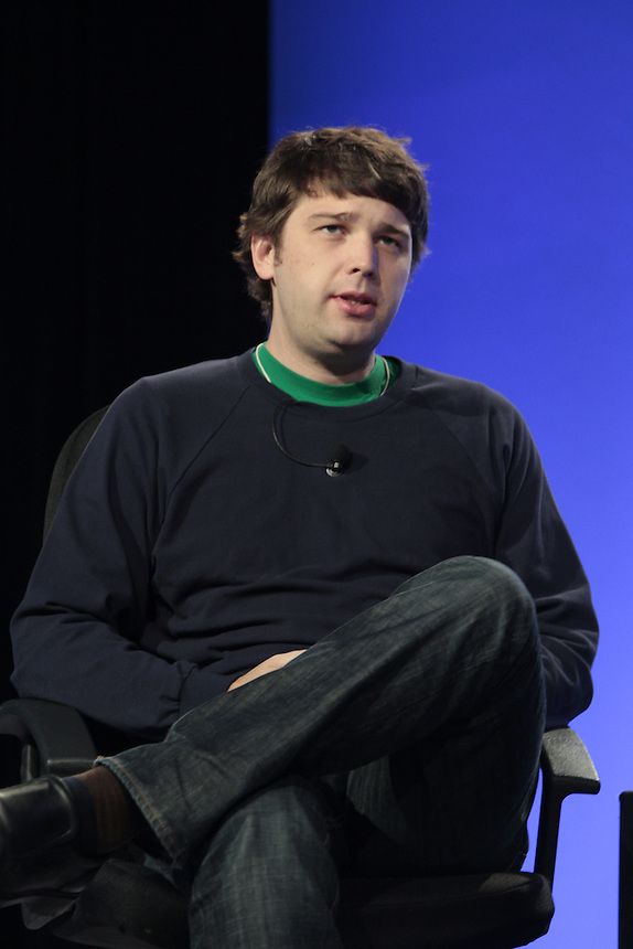 Andrew Mason, CEO and Founder of Groupon, speaks at DEMO in Santa Clara, Calif., Wednesday Sept. 15, 2011