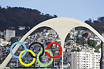 General view, <br /> AUGUST 12, 2016 - Olympic : <br /> General view of Sambodromo <br /> during the Rio 2016 Olympic Games in Rio de Janeiro, Brazil. <br /> (Photo by Yusuke Nakanishi/AFLO SPORT)