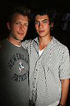 "Half Brothers - Todd Rotondi ""Bryant Craig Montgomery"" and Ben Levin ""Gabriel"" (Craig - father both) at Trent Dawson's 6th Annual Martinis With Henry on April 17, 2010 at Latitude, New York City, New York. (Photo by Sue Coflin/Max Photos)"