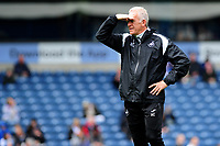 Alan Curtis, assistant coach for Swansea City during the Sky Bet Championship match between Blackburn Rovers and Swansea City at Ewood Park in Blackburn, England, UK. Sunday 5th May 2019