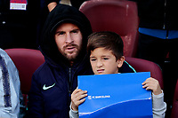 FC Barcelona's Leo Messi during La Liga match between FC Barcelona and Real Madrid at Camp Nou Stadium in Barcelona, Spain. October 28, 2018. (ALTERPHOTOS/A. Perez Meca)<br /> Barcelona 28-10-2018 Camp Nou <br /> Barcellona - Real Madrid <br /> Liga Campionato Spagna 2018/2019<br /> Foto Perez Meca / Alterphotos / Insidefoto <br /> ITALY ONLY