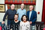 Enjoying the evening out in Cassidys on Friday night<br /> Front l to r: Maggie and Cathy Barton.<br /> Back l to r: Michael O'Shea, Denis Barton and Ned O'Shea.
