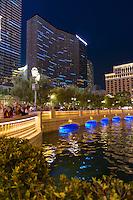 Bellagio Fountains Spectators