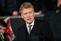 Sunday 05 January 2014<br /> Pictured:David Moyes, Manager of Manchester United<br /> Re: Manchester Utd FC v Swansea City FA cup third round match at Old Trafford, Manchester