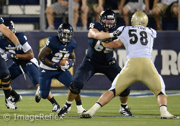 Florida International University football player running back Darian Mallary (26) plays against the University of Akron on September 8, 2012 at Miami, Florida. FIU won the game 41-38 in overtime. .