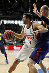 Real Madrid´s Felipe Reyes during Liga Endesa Final first match at Palacio de los Deportes in Madrid, Spain. June 19, 2015. (ALTERPHOTOS/Victor Blanco)