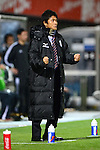 Hiroshi Jofuku (Ventforet),.APRIL 10, 2013 - Football / Soccer :.Ventforet Kofu head coach Hiroshi Jofuku celebrates during the 2013 J.League Yamazaki Nabisco Cup Group A match between Omiya Ardija 1-3 Ventforet Kofu at NACK5 Stadium Omiya in Saitama, Japan. (Photo by AFLO)
