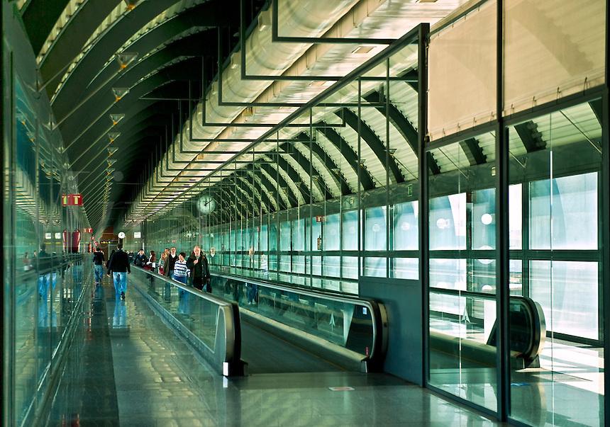 Madrid-Barajas airport, Madrid, Spain