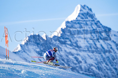 01.12.2016, Val d Isere, France.  FIS World Cup Alpine skiing , Val d Isere, Training. Beat Feuz (SUI)of Switzerland in action during the 2nd practice run