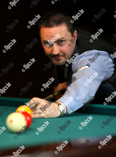 2009-05-26 / Snooker / Frédéric Caudron werd vice Europees kampioen driebanden..Foto: Maarten Straetemans (SMB)