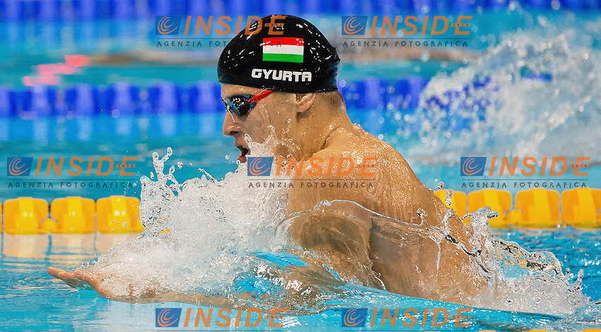 GYURTA Daniel Hungary.200 BREASTSTROKE Men.Swimming heats.London 2012 Olympics - Olimpiadi Londra 2012.day 05 July 31.Photo G.Scala/Deepbluemedia.eu/Insidefoto