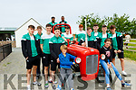The Irish U18 basketball team had a team bonding day out last Saturday and one of their stops was at Sandy Feet Pet Farm, Camp, where they met up with some unusual tall animals.