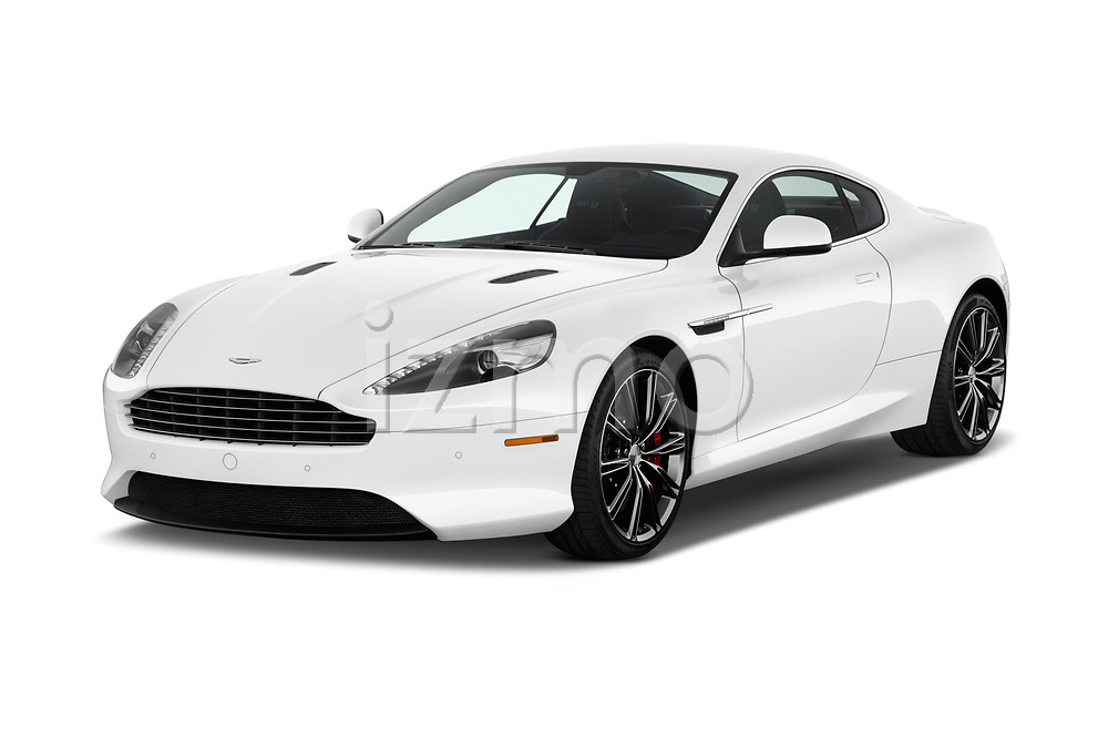 2016 Astonmartin DB9 Base 2 Door Coupe angular front stock photos of front three quarter view