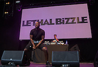 Lethal Bizzle performs during The New Look Wireless Music Festival at Finsbury Park, London, England on Friday 03 July 2015. Photo by Andy Rowland.