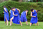 Old Westbury, New York, U.S. 22nd June 2013. Dances by Lori Belilove & The Isadora Duncan Dance Company, with appearances by The Beliloveables, are performed by dancers in flowing costumes at the Midsummer Night event at Old Westbury Gardens, throughout the illuminated grounds of the historic Long Island Gold Coast estate.