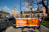 "01.04.2014 - ""Afternoon Tea with Chris Grayling"" - Save Probation & Legal Aid Demo"