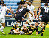 1st October 2017, Ricoh Arena, Coventry, England; Aviva Premiership rugby, Wasps versus Bath Rugby;  Rob Miller in action for Wasps