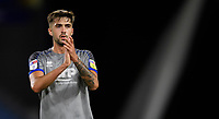 Lincoln City's Ellis Chapman applauds the fans at the final whistle<br /> <br /> Photographer Chris Vaughan/CameraSport<br /> <br /> The Carabao Cup First Round - Huddersfield Town v Lincoln City - Tuesday 13th August 2019 - John Smith's Stadium - Huddersfield<br />  <br /> World Copyright © 2019 CameraSport. All rights reserved. 43 Linden Ave. Countesthorpe. Leicester. England. LE8 5PG - Tel: +44 (0) 116 277 4147 - admin@camerasport.com - www.camerasport.com