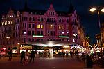 Stockholm, Sweden at night