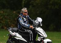 Oct 2, 2016; Mohnton, PA, USA; NHRA funny car driver John Force during the Dodge Nationals at Maple Grove Raceway. Mandatory Credit: Mark J. Rebilas-USA TODAY Sports