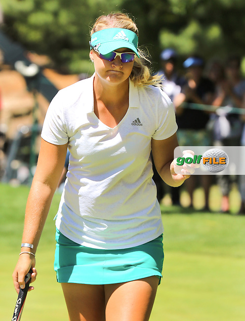 160703  Sweden's Ana Nordqvist during Sunday's Final Round of The Portland Classic at The Columbia Edgewater Country Club in Portland, Oregon.(photo credit : kenneth e. dennis/kendennisphoto.com)