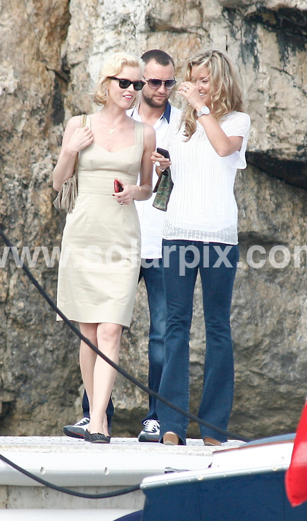 **ALL ROUND PICTURES FROM SOLARPIX.COM**.**SYNDICATION RIGHTS FOR UK AND SPAIN ONLY**.Eva Herzigova leaving the Eden Rock hotel with a boat taxi during 62nd Annual Cannes Film Festival. .JOB REF:  9080    CPR / Mller    DATE:  23.05.09.**MUST CREDIT SOLARPIX.COM OR DOUBLE FEE WILL BE CHARGED**.**ONLINE USAGE FEE GBP 50.00 PER PICTURE - NOTIFICATION OF USAGE TO PHOTO @ SOLARPIX.COM**.**CALL SOLARPIX : +34 952 811 768 or LOW RATE FROM UK 0844 617 7637**