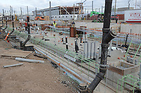 New Haven Rail Yard, Independent Wheel True Facility. CT-DOT Project # 0300-0139, New Haven CT..Photograph of Construction Progress. 17th Photo Shoot, 19 November 2012. One of 54 Images Captured this Submission.