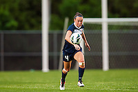 Sky Blue FC defender Caitlin Foord (4). Sky Blue FC defeated the Seattle Reign FC 2-0 during a National Women's Soccer League (NWSL) match at Yurcak Field in Piscataway, NJ, on May 11, 2013.