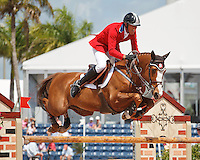 Flexible ridden by Rich Fellers,  USEF trials#2 Wellington Florida. 3-22-2012
