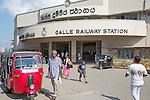 Exterior of Galle Railway station, Sri Lanka