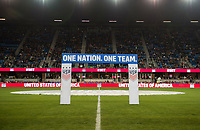 San Jose, CA - November 12, 2017: The USWNT defeated Canada 3-1 during an international friendly at Avaya Stadium.