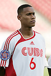 13 March 2008: Alianni Urgelles (CUB) (6). The Honduras U-23 Men's National Team defeated the Cuba U-23 Men's National Team 2-0 at Raymond James Stadium in Tampa, FL in a Group A game during the 2008 CONCACAF's Men's Olympic Qualifying Tournament.