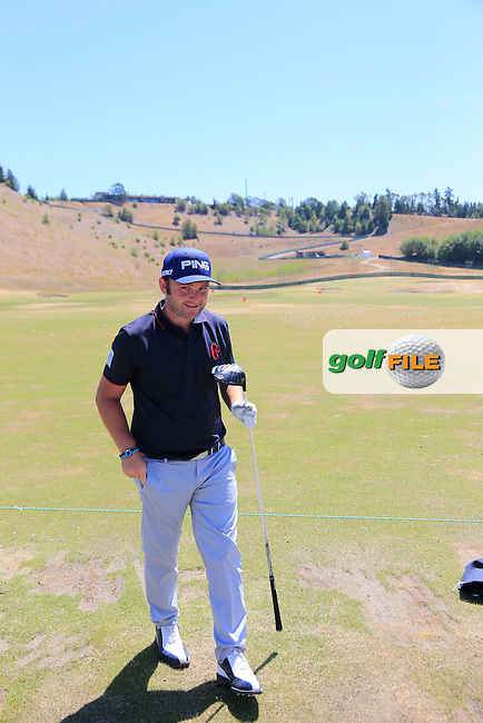 Andy SULLIVAN (ENG) during Wednesday's Practice Day of the 2015 U.S. Open 115th National Championship held at Chambers Bay, Seattle, Washington, USA. 6/17/2015.<br /> Picture &copy; Golffile/Eoin Clarke