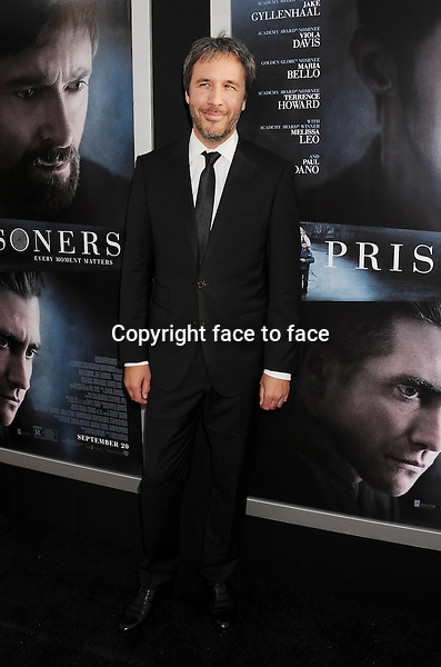 BEVERLY HILLS, CA- SEPTEMBER 12: Director Denis Villeneuve arrives at the 'Prisoners' - Los Angeles Premiere at the Academy of Motion Picture Arts and Sciences on September 12, 2013 in Beverly Hills, California.<br /> Credit: Mayer/face to face<br /> - No Rights for USA, Canada and France -