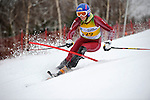12 MAR 2011:  Lindsay Cone (29) of the University of Denver competes in the women's slalom alpine race during the 2011 NCAA Men and Women's Division I Skiing Championship held Stowe Mountain Resort and Trapp Family Lodge in Stowe, VT. Cone placed 2nd to take silver. ©Brett Wilhelm/NCAA Photos