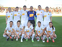 The Western New York Flash Starting Eleven. The Washington Spirit tied The Western New York 1-1 in the home opener of The National Women's Soccer League, at Maryland SoccerPlex, Saturday April 20, 2013.