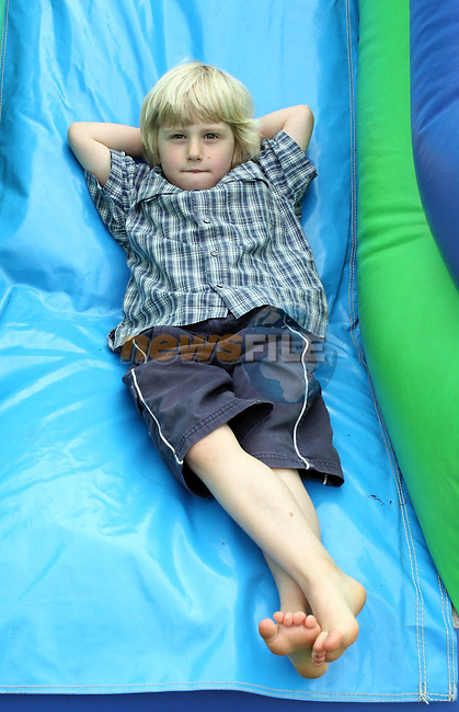 Christian Quinn chilling out at the Annual Family Fun Day in 5 Oaks...Photo NEWSFILE/Jenny Matthews.(Photo credit should read Jenny Matthews/NEWSFILE)....This Picture has been sent you under the condtions enclosed by:.Newsfile Ltd..The Studio,.Millmount Abbey,.Drogheda,.Co Meath..Ireland..Tel: +353(0)41-9871240.Fax: +353(0)41-9871260.GSM: +353(0)86-2500958.email: pictures@newsfile.ie.www.newsfile.ie.FTP: 193.120.102.198.