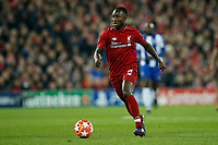 Naby Keita of Liverpool in action during the UEFA Champions League Quarter Final first leg match between Liverpool and Porto at Anfield on April 9th 2019 in Liverpool, England. (Photo by Daniel Chesterton/phcimages.com)<br /> Foto PHC/Insidefoto <br /> ITALY ONLY
