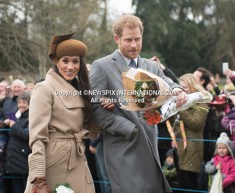 Meghan Markle Joins Royals At Sandringham Christmas