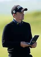 Paul Dunne of Ireland looks on during Round 2 of the 2015 Alfred Dunhill Links Championship at the Old Course, St Andrews, in Fife, Scotland on 2/10/15.<br /> Picture: Richard Martin-Roberts | Golffile