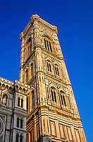 Campanile (Giotto's Tower), Duomo (Cathedral), Florence, Italy